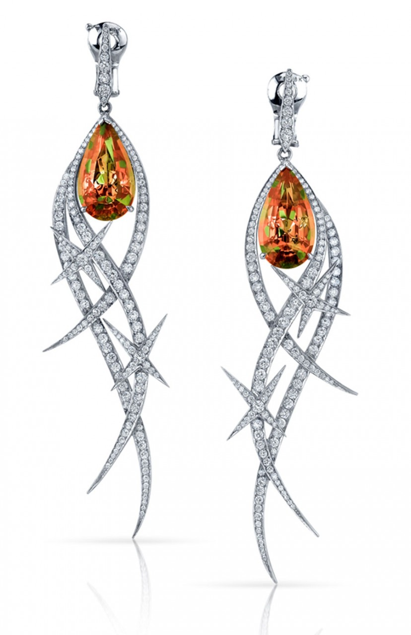 Stephen Webster Couture Earrings with Zultanite