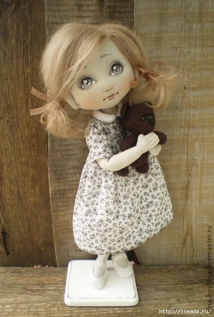 Куклы Ирины Хочиной + Выкройка
