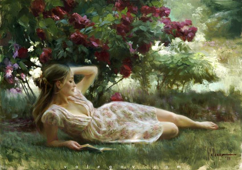 Обещай, что будешь рядом... Современный художник Владимир Волегов