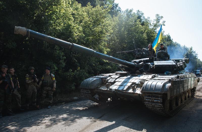 Украинская армия готовится к наступлению