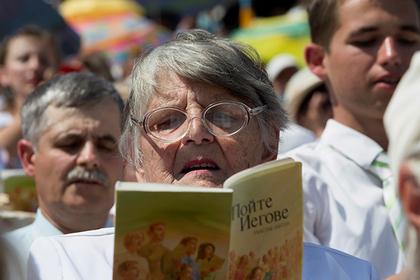 В Кремле пообещали разобраться со «Свидетелями Иеговы»