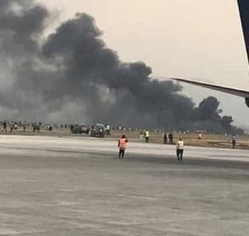 Опубликованы видео с места крушения пассажирского самолета на Кубе