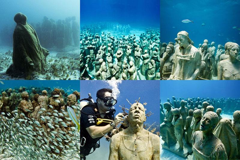 Картинки по запросу Музей подводных скульптур