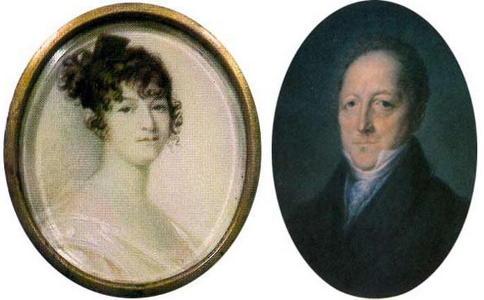 Надежда Ганнибал (Пушкина). Мать поэта