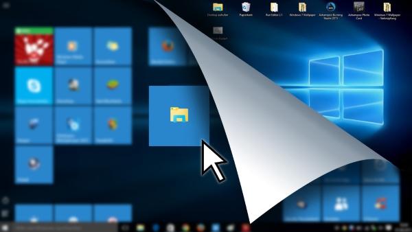 Как запретить создание файлов на рабочем столе в Windows 10