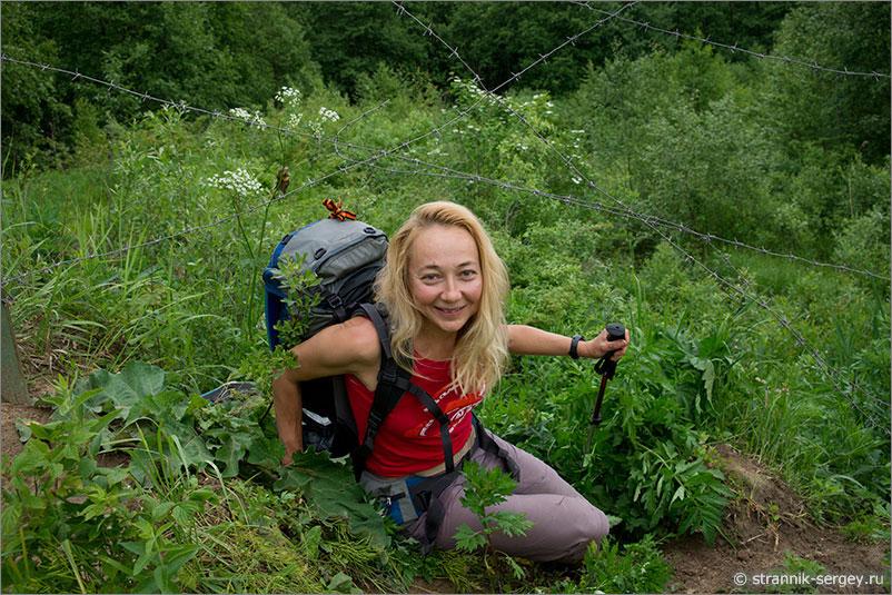 Русская природа - люди
