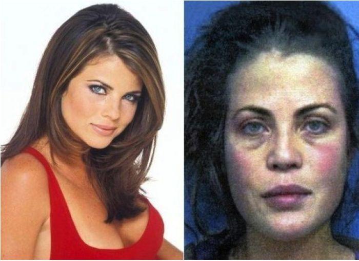 4. Ясмин Блит (Yasmin Bleeth), играла роль Каролины Холден (Caroline Holden) Спасатели малибу, кино