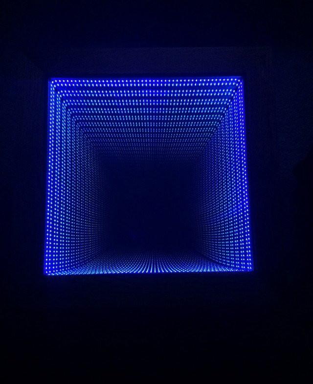 Столик бесконечности из зеркал и подстветки Светодиодная лента, зеркало, подсветка, своими руками, стол