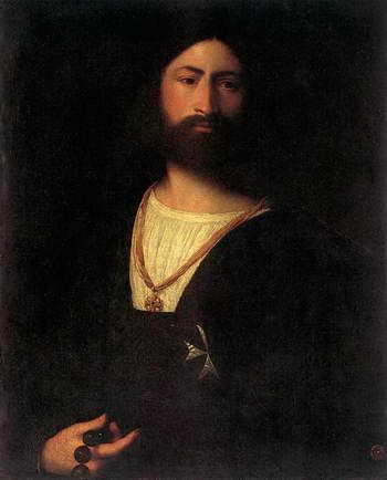 Тициан. Портрет мальтийского рыцаря