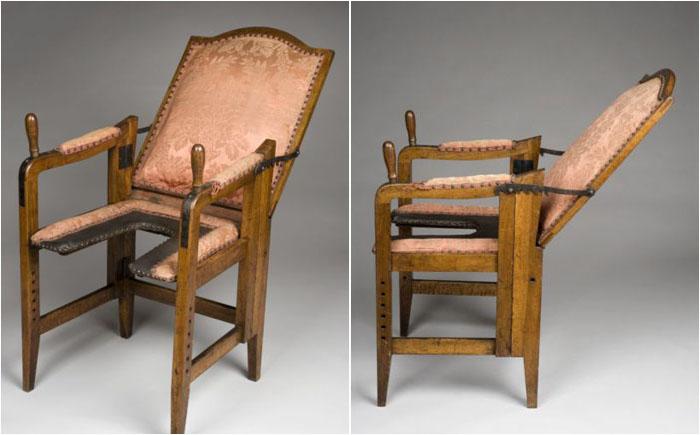 Кресло для родов, 1701-1900, Германия