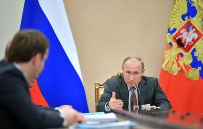 Путин призвал дать дополнительный стимул развитию экономики