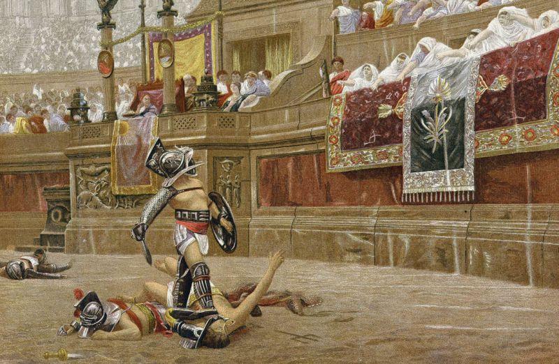 Миф о гладиаторах: поголовные смертники?