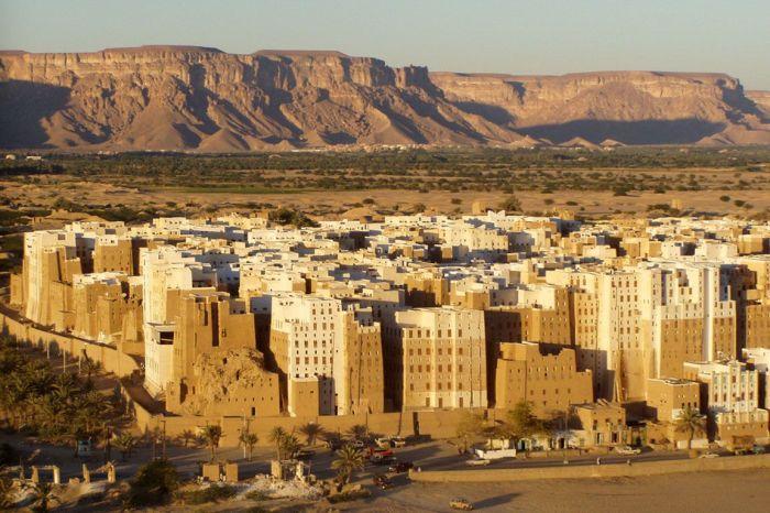 Мегаполис, появившийся здесь много веков назад.