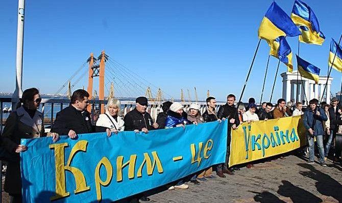 Киев отказался от Крыма и Донбасса