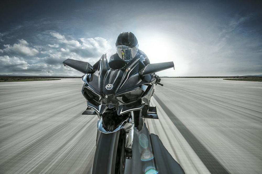 Фотографии Kawasaki Ninja H2/H2R 2016