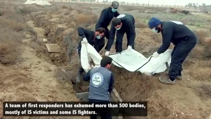 В Сирии армия обнаружила семь массовых захоронений