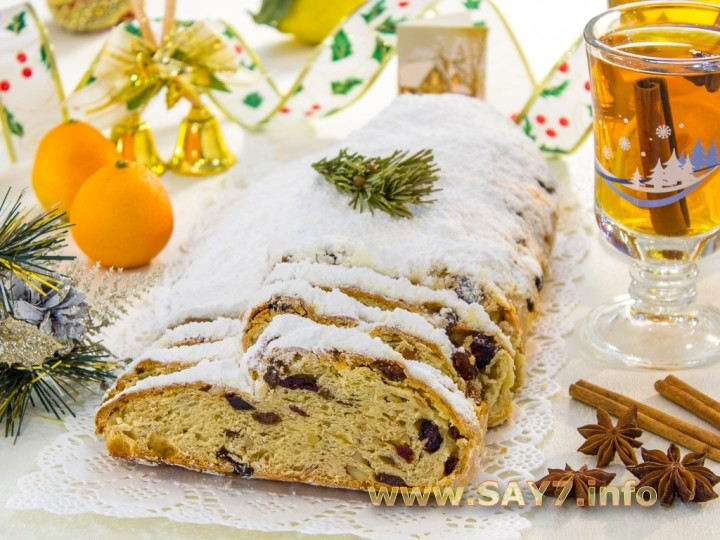 Традиционная рождественская немецкая выпечка