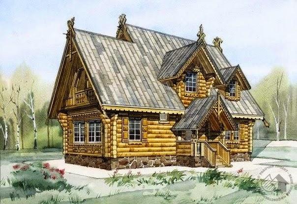 Правильный русский дом
