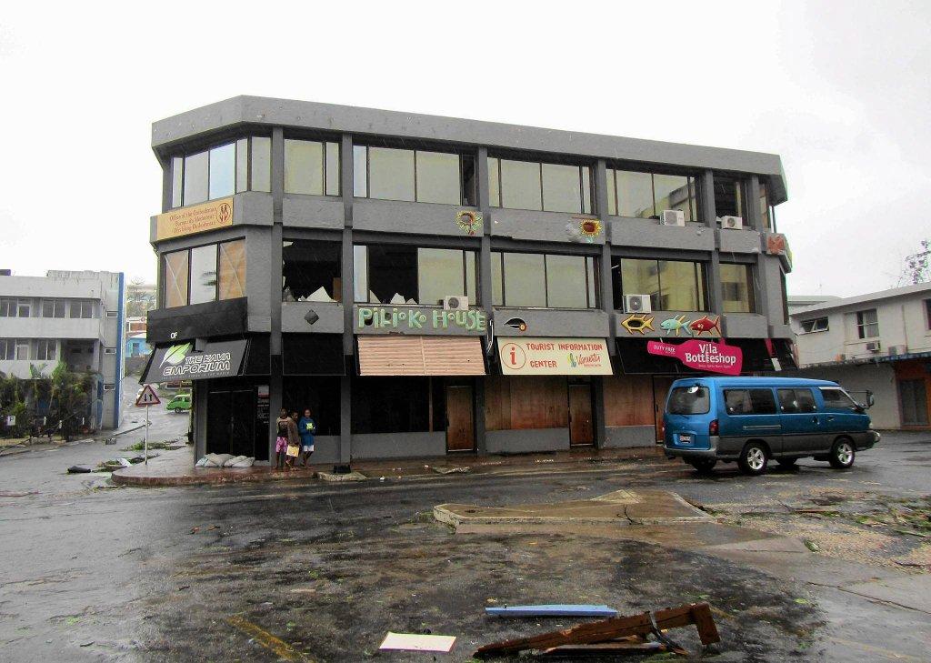 Циклон Пэм ударил по Вануату-5