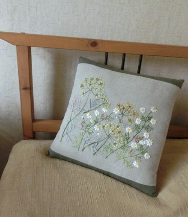 Простота и лаконичность японской вышивки в прекрасных работах мастеров