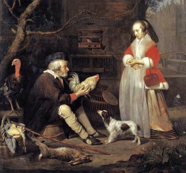 Маркетинг в живописи 15 века.  Что ели, пили, продавали, покупали и выращивали предки 400 лет назад