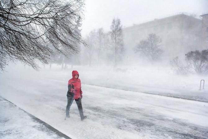 Россия начала поставки газа в украинский город Геническ, страдающего от сильных морозов
