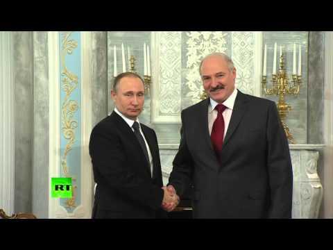 Лукашенко оговорился, назвав Путина Дмитрием Анатольевичем. ВИДЕО