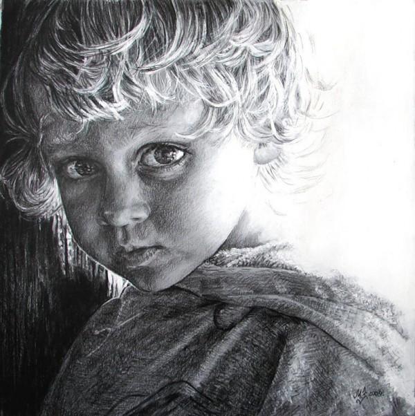 рисунки карандашом Maria Zeldis -2-04
