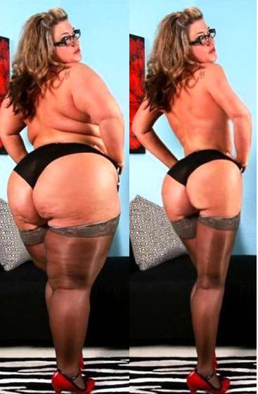 Цифровое похудение: мастера фотошопа делают полных женщин худыми. Феминистки негодуют