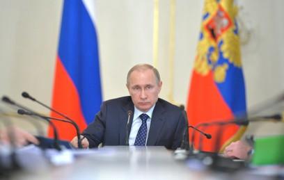 Путин уволил главу управления МЧС по Москве
