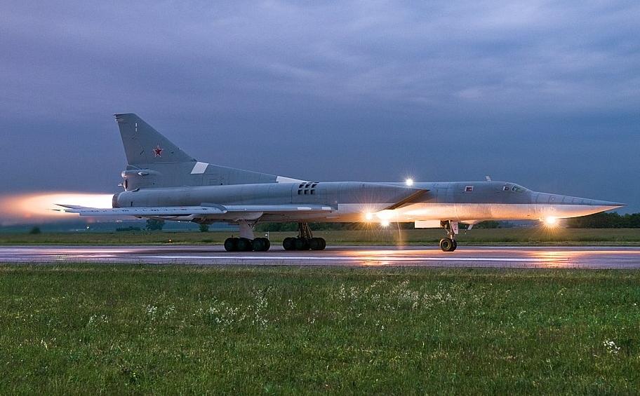 Как погиб Ту-22М3 в небе Грузии
