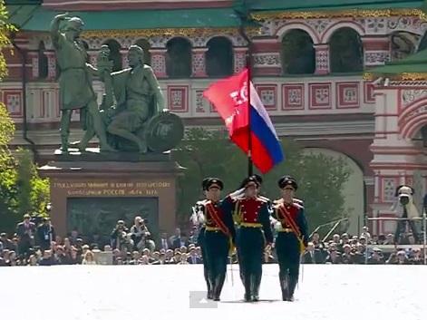Парад в честь 70-летия Велик…