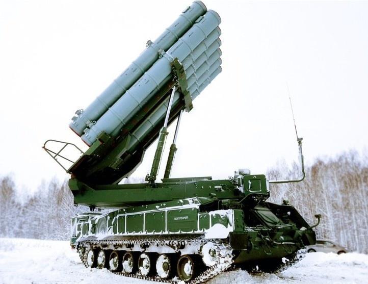 Новейшие ЗРК «Бук-М3» встали на вооружение ВС РФ