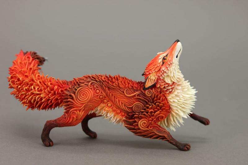 Фантастические животные из пластики