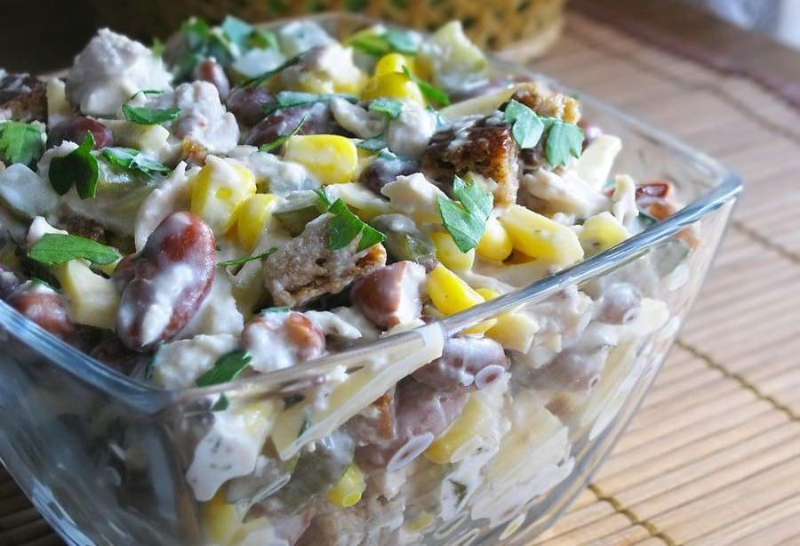 Фото салатов приготовление