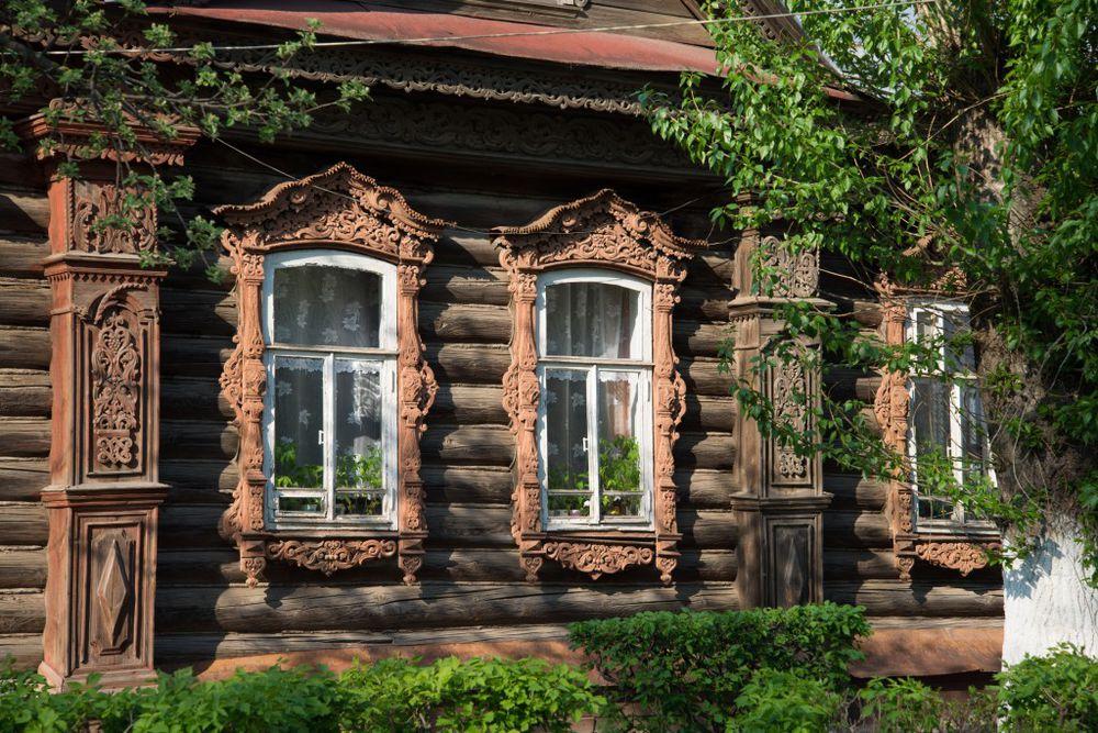 Резное великолепие  —  «пряничные» терема и теремки России