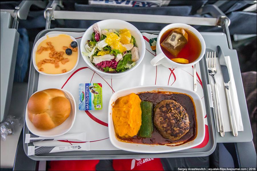 Это лучшая еда в самолете, которую я встречал