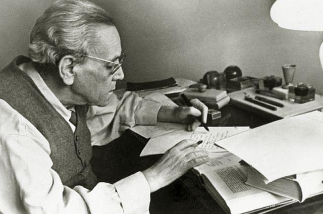 Самуил Маршак. 1962 год.