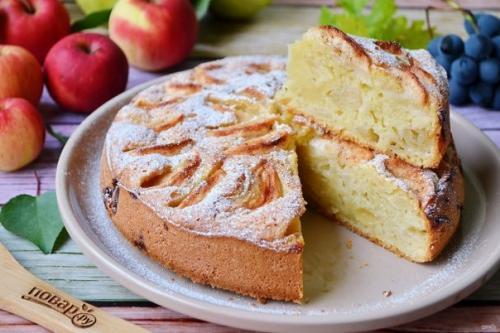 Яблочный пирог от бабушки Эммы.