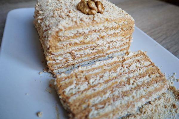 Торт без выпечки из трех инг…
