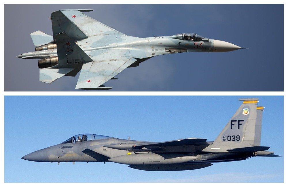 «Украинский пилот не заметит, как его сбили»: военный историк о воздушном бое между Су-27 и F-15