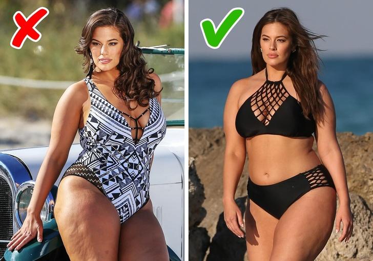 10 способов скрыть недостатки фигуры на пляже для тех, кто не успел похудеть к лету