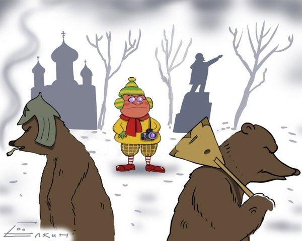 Перед поездкой в Россию, американец думал как обезопасить себя