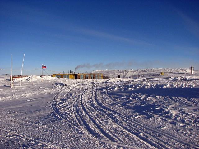 Один день в центральной Антарктиде