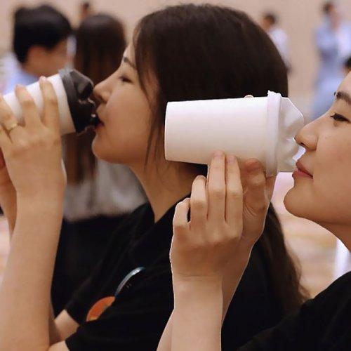 Поцелуй свой кофе (6 фото)