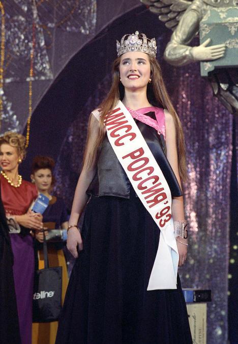 Анна Байчик  Мисс Россия 1993 фото