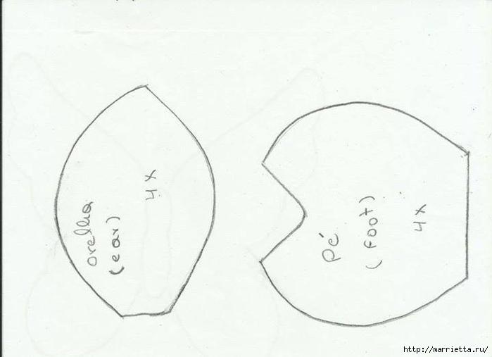 Текстильная ХРЮШКА. Выкройка (1) (700x507, 113Kb)