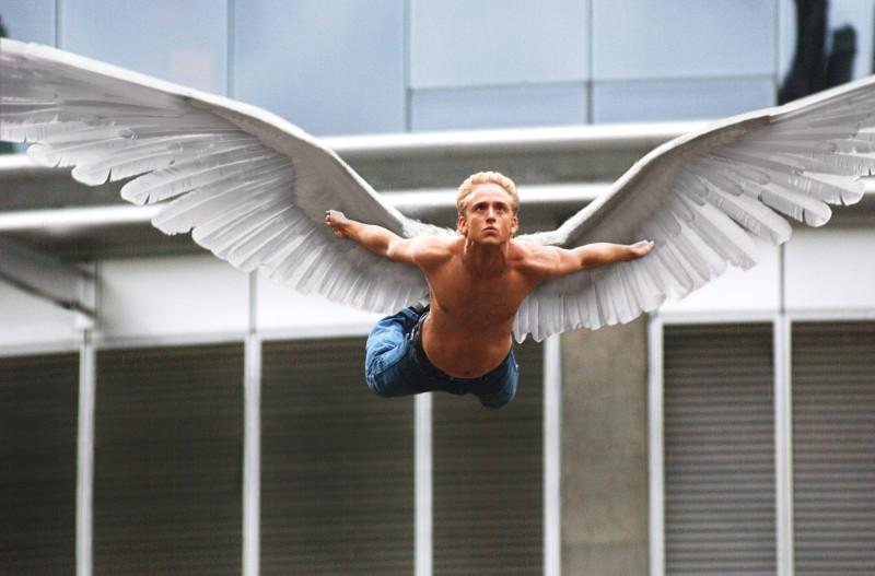 Как сделать крылья чтобы летать человеку по настоящему