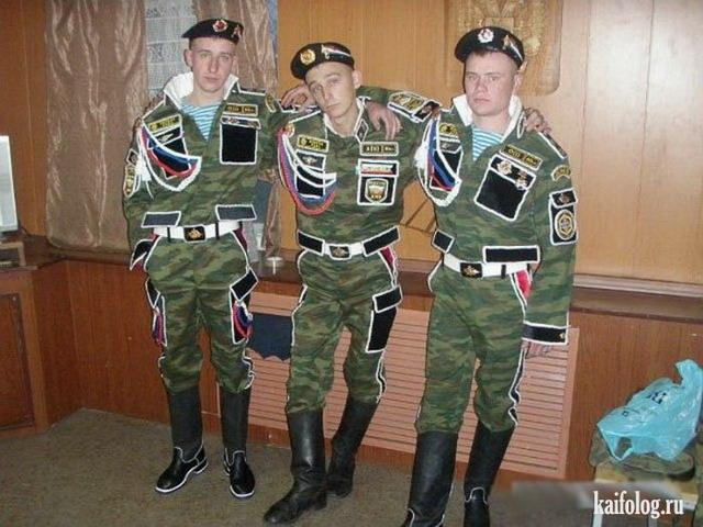 Военная мода. Дембели в Росс…