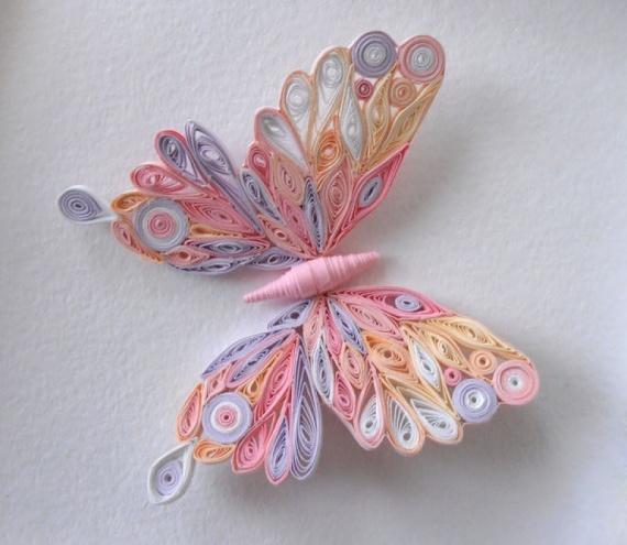 Бабочка квиллинг своими руками